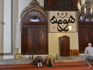 Turkey, Bursa – mosque, August 2012