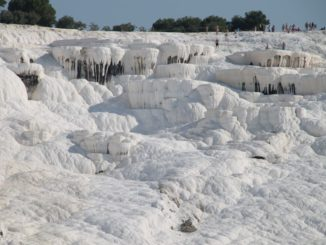 Turkey, Pamukkale – pure white, August 2012