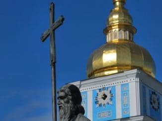 Ukraine, Kiev – cross, 2011