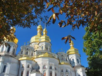 Ukraine, Kiev – blue sky, 2011