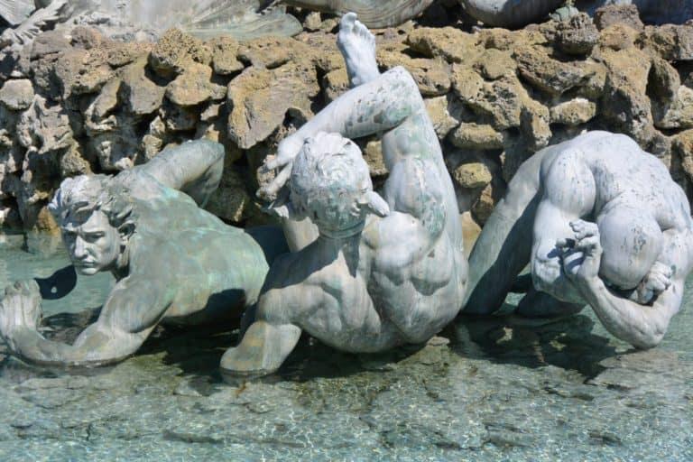 町―彫刻 2016年5月 (ボルドー)