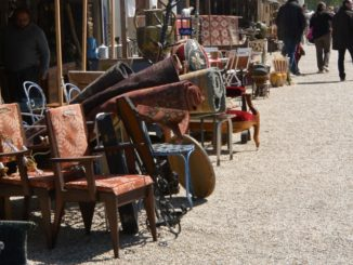 town – antique market, May 2016