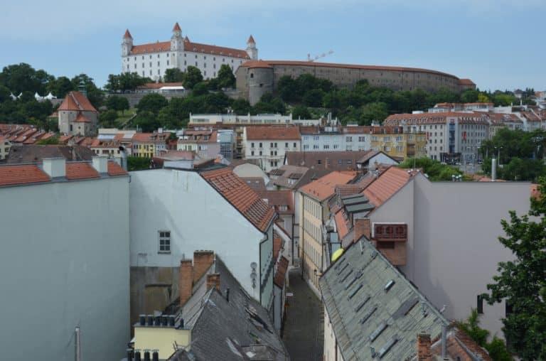 La Porta e la Torre di San Michele a Bratislava