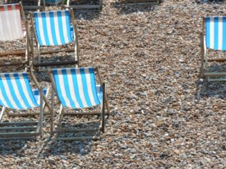 beach – deckchairs, May 2016