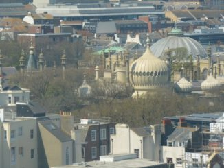 from the Ferris wheel – Royal Pavilion, May 2016