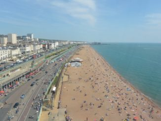 from the Ferris wheel – coast line, May 2016