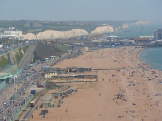 from the Ferris wheel – White Cliffs, May 2016