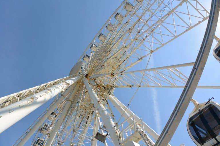 beach – Ferris wheel, May 2016 (Brighton)
