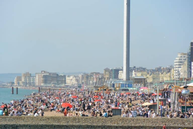 Brighton congestionata