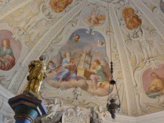 Cerveny Kamen Castle – ceiling, May2016