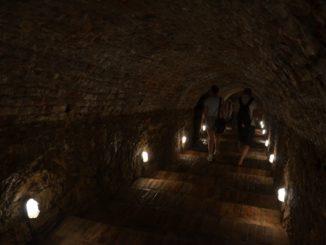 Cerveny Kamen Castle – passage, May2016