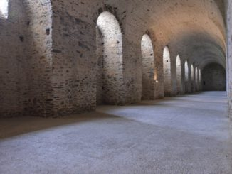 Cerveny Kamen Castle – warehouse, May2016