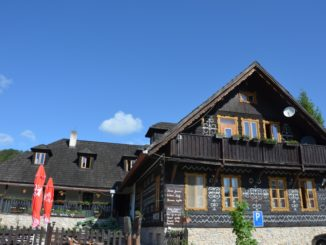 The accommodation in Cicmany