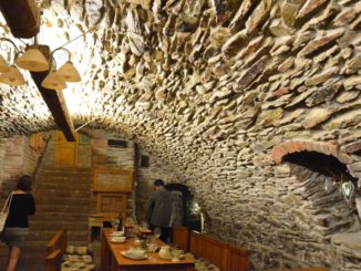 Modra – inside the wine cellar, May2016