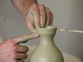 Visit the pottery studio