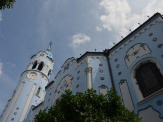 blue church – look up, May 2016
