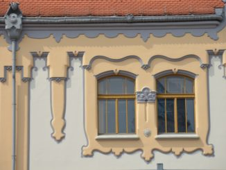 town – decorative windows, May 2016