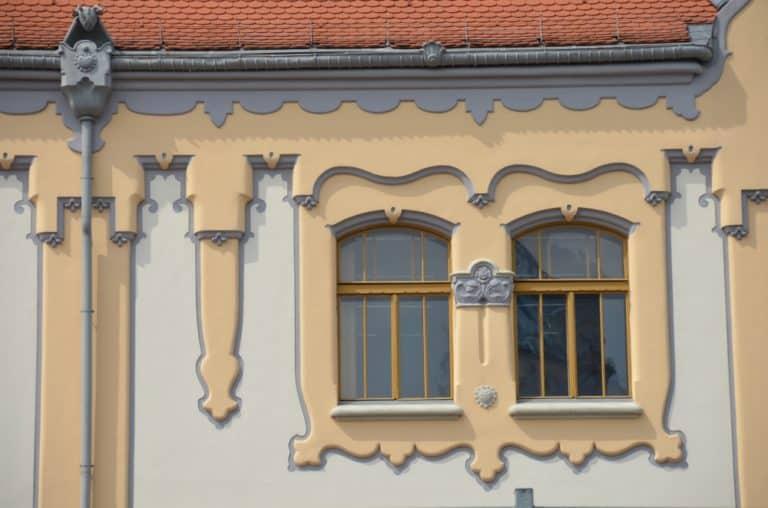 町ー装飾的な窓 2016年5月 (ブラチスラバ)