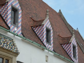 town – pretty windows, May 2016