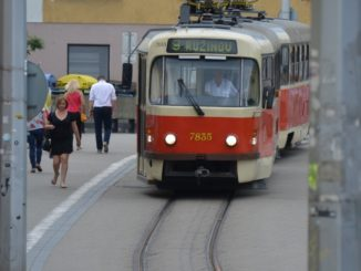 town – tram, May 2016