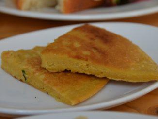 Pancake all'aglio a Bratislava in Slovacchia