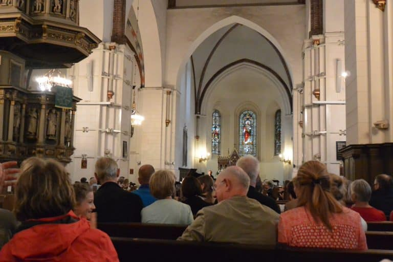 Concert in the cathedral