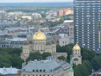 St.Peter's Church – gold dome, July 2016