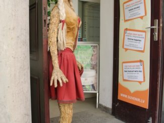 town – mannequine, July 2016