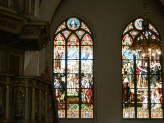 cathedral – stained glasses, July 2016