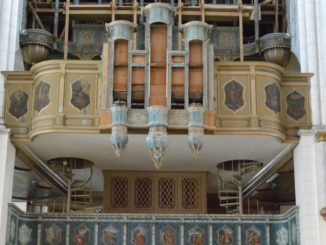 cathedral – organ, July 2016