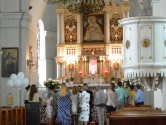 Our Lady of Sorrow Church – baptism, July2016