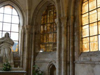 Desolate church