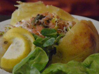 Jacket potato restaurant