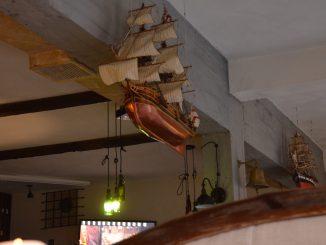 グダニスクのレストラン、Gdanski Bowke の内装