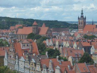 Poland, Gdansk - view of the town, Aug.2016