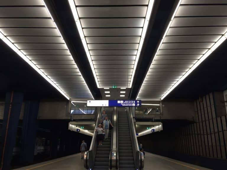 Train journey in Poland