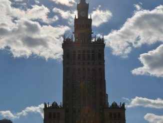Poland, Warsaw – Palace of Culture and Science, Aug.2016