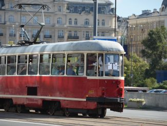 Poland, Warsaw – tram, Aug.2016