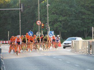 ポーランド、ワルシャワ-自転車競技 2016年8月