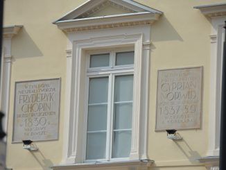 Poland, Warsaw – Chopin lived here, Aug.2016