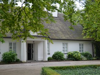 Poland, Warsaw suburbs  – Chopin's birth place, the house, Aug.2016