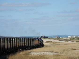 England, Dungeness – locomotive, Aug.2016