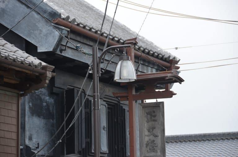 佐原-街灯 2016年8月 (千葉県)