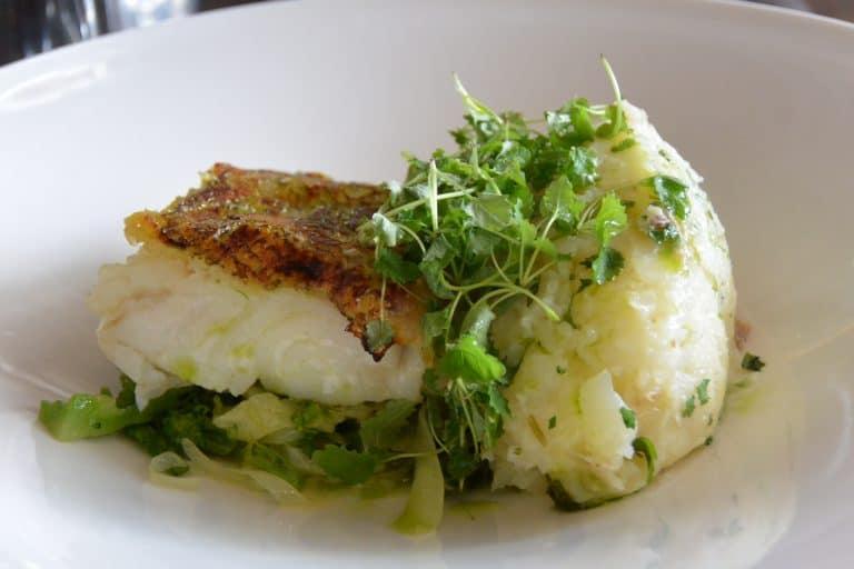 Mangiare il pesce a Topsham