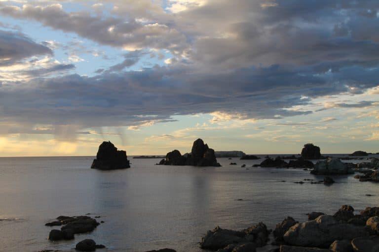 日本、佐渡島