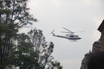 elicottero-presidente-bogotà-capitale-della-colombia