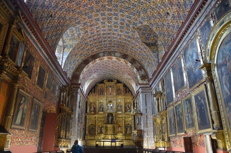 Tre chiese a Bogotà