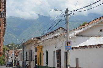 Santa Fe de Antioquia – quiet street, Dec.2016