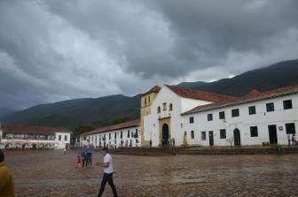 La lluviosa Villa de Leyva