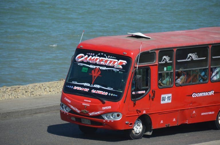 Cartagena – bus, Jan.2017 (Cartagena)